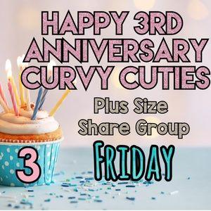 Tops - 2/22 CURVY CUTIES' 3RD ANNIVERSARY!